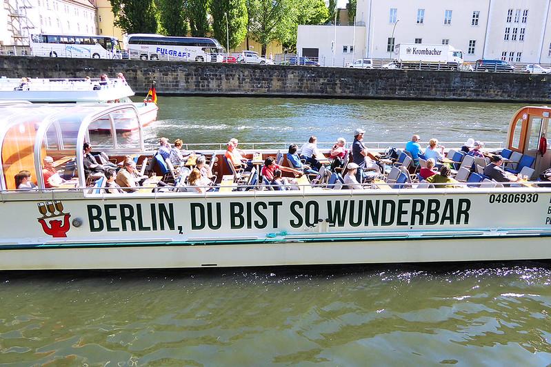 Berlin Schiffahrt auf der Spree Berlin, Du bist so wunderbar