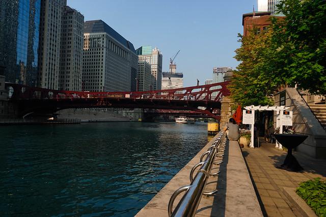 Clark Street Bridge; Chicago River, Chicago, ILhris Coyier #aeasea