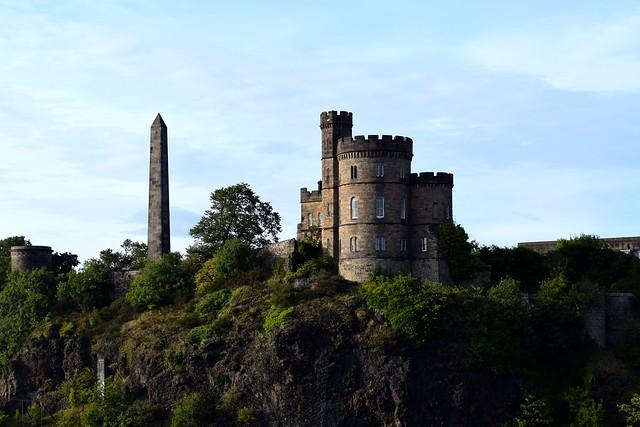 Above Edinburgh, Scotland | www.rachelphipps.com @rachelphipps
