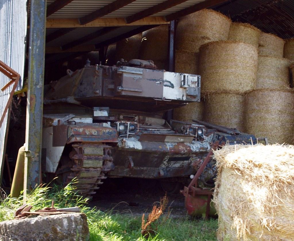 "Chieftain Tank, ""barn find"""