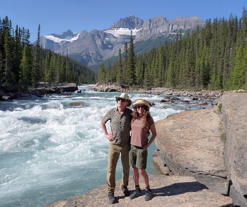 Britt and Ilana by Mistaya River