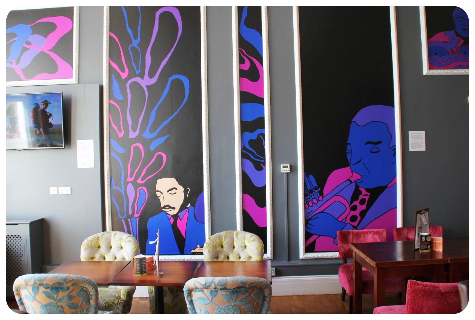 YHA Hostel Brighton restaurant