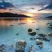 Sunset on Ullapool seafront by Loïc Lagarde