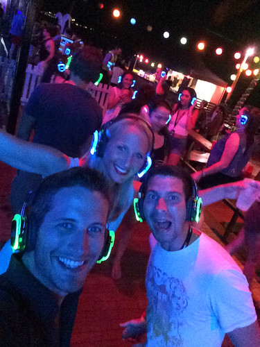 Silent Disco @Full Moon Party Magnetic Island