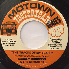 SMOKEY ROBINSON & THE MIRACLES:THE TRACKS OF MY TEARS(LABEL SIDE-A)