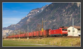 185 096, Erstfeld, 10.01.2008