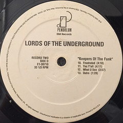 LORDS OF THE UNDERGROUND:KEEPERS OF THE FUNK(LABEL SIDE-D)