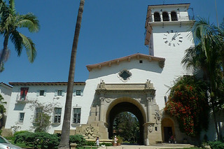 Santa Barbara - Santa Barbara Courthouse