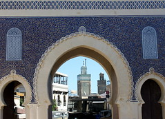 peeking into fez medina