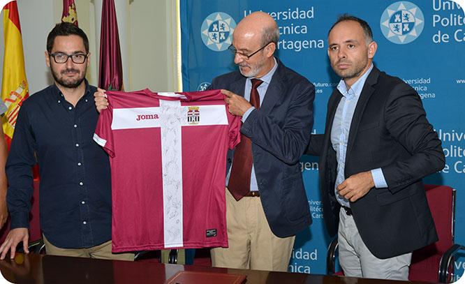 La UPCT y el FC Cartagena ponen en marcha un canal temático de televisión