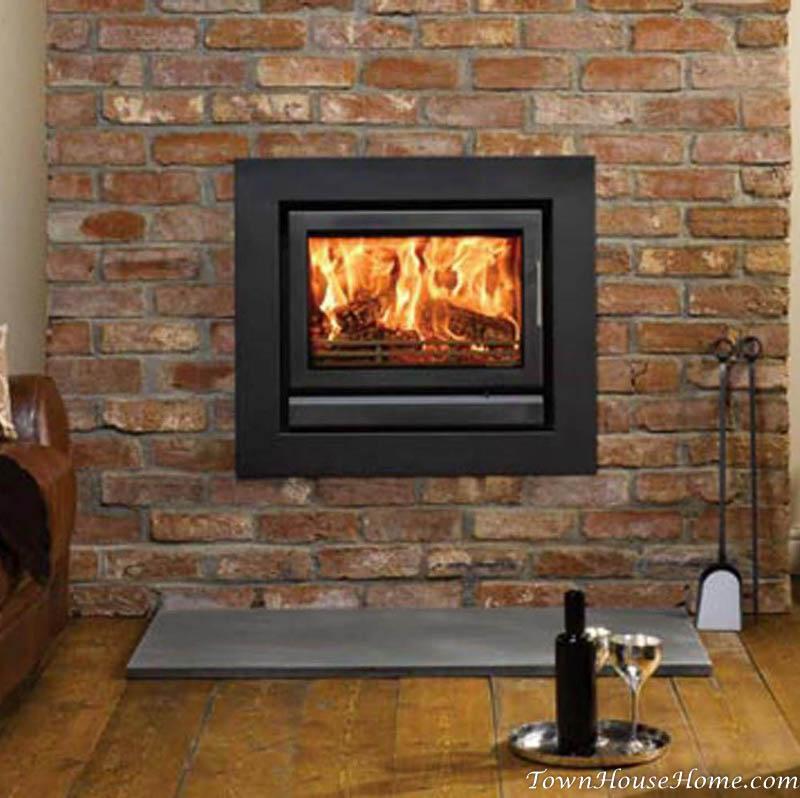 Cassette insert fireplace
