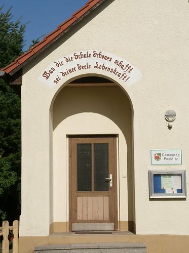 Peckfitz, Gemeindehaus