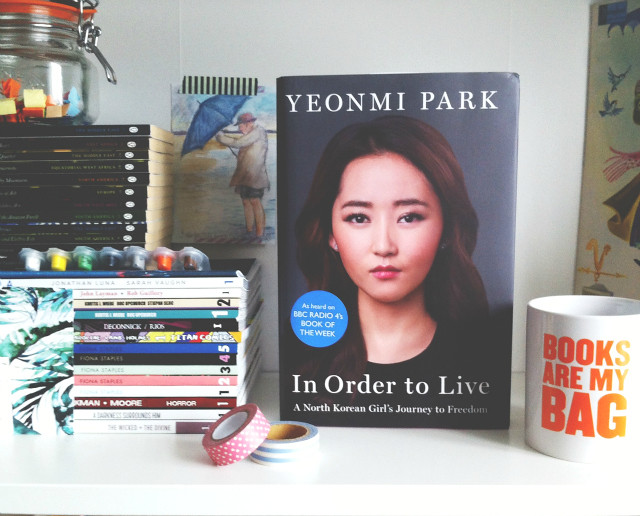 vivatramp in order to live yeonmi park book blog book haul