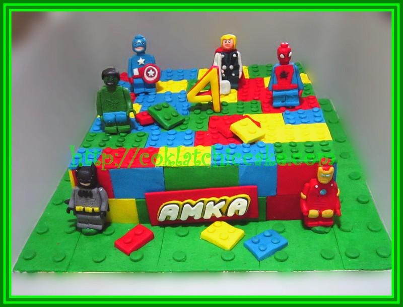 Cake Lego Movies Super hero