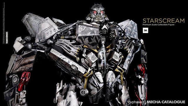 "threeA - ""TRANSFORMERS Dark of the Moon"" STARSCREAM"