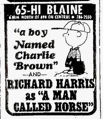 A Boy Named Charlie Brown and a Man Called Horse, 1971