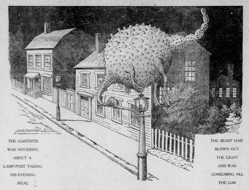 Walt McDougall - The Salt Lake herald., June 28, 1903, The Gastritis