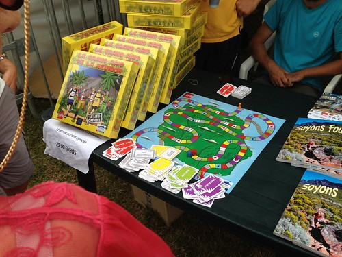 ディアゴナル・デ・フを題材にしたボードゲームもあります。