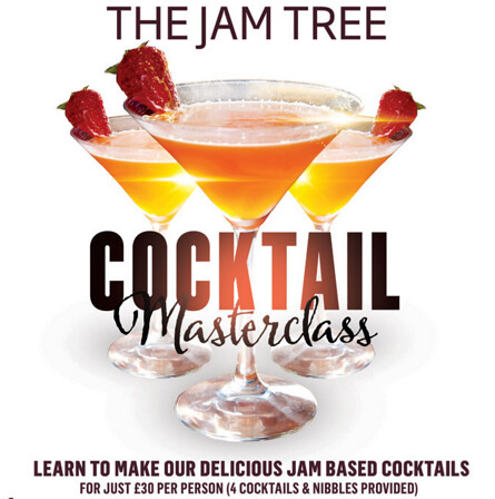 The Jam Tree Cocktail Masterclasses