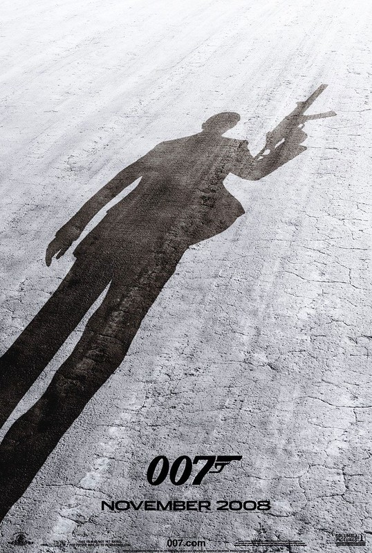 Quantum of Solace - Poster 1