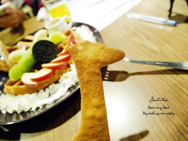 大坪林站zoo咖啡動物園咖啡鬆餅下午茶 (1)