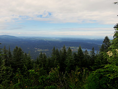 Quilcene Bay and beyond from Mount Walker