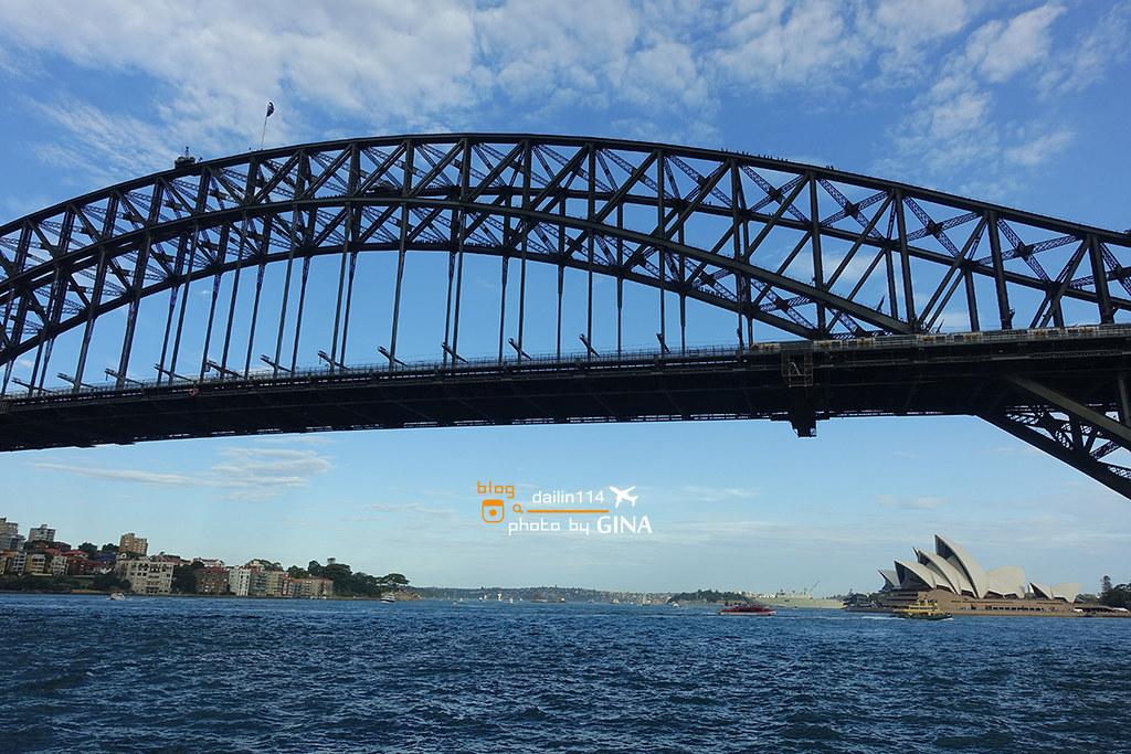 雪梨一日團》悉尼一日團 雪梨Parramatta 遊船 (Parramatta River Cruise ) 最後行經雪梨歌劇院+雪梨大橋一覽雪梨河畔美景 @Gina Lin