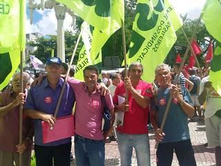 CSB nos protestos contra a Reforma da Previdência em todo Brasil