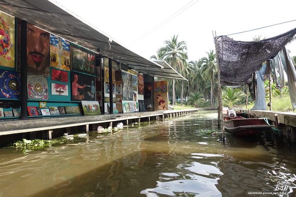 泰國曼谷-水上市場+美功鐵道市集+河濱夜市-10