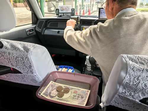 日本計程車初體驗
