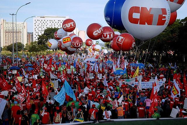 La paralización va a durar inicialmente 10 días, el 25 de marzo, el movimiento va a evaluar la continuidad de las movilizaciones - Créditos: CNTE