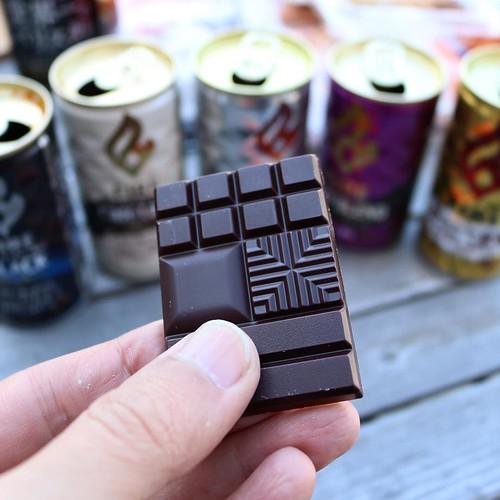 コーヒーにチョコレートは鉄板ですよね。今回、カカオの含有量が異なる二種類のチョコで試してみたら、それぞれ合うコーヒーの味が違ってて面白かった。これも結果はブログで。