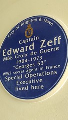 Photo of Edward Zeff blue plaque