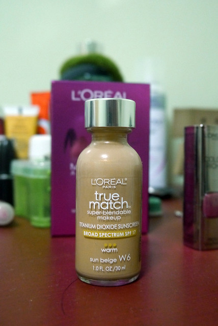 L'Oreal True Match Foundation in Sun Beige 001