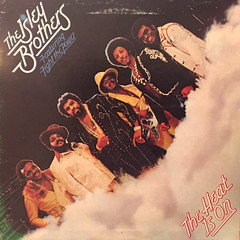 THE ISLEY BROTHERS:THE HEAT IS ON(JACKET A)