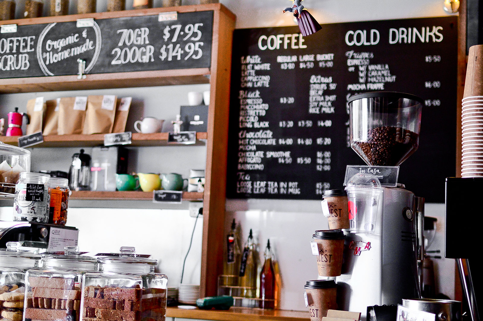 Burleigh Quest Coffee Roasters
