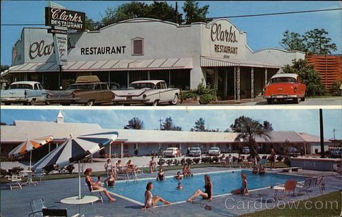 Clark's Motel  Restaurant Santee, SC