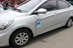 automobile(1.0), automotive exterior(1.0), wheel(1.0), vehicle(1.0), hyundai accent(1.0), mid-size car(1.0), sedan(1.0), land vehicle(1.0),