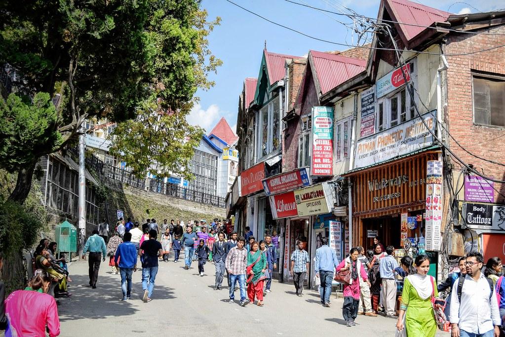 Улицы Шимлы