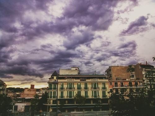 sunset urban west clouds cloudy greece macedonia timeless makedonia kozani μακεδονια macedoniagreece