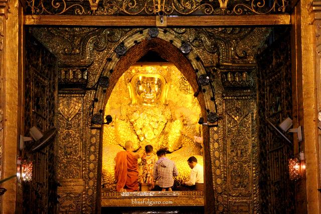 Mahamuni Paya Mandalay Myanmar