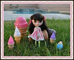 Immie Ice Cream - Darlenedolls Custom