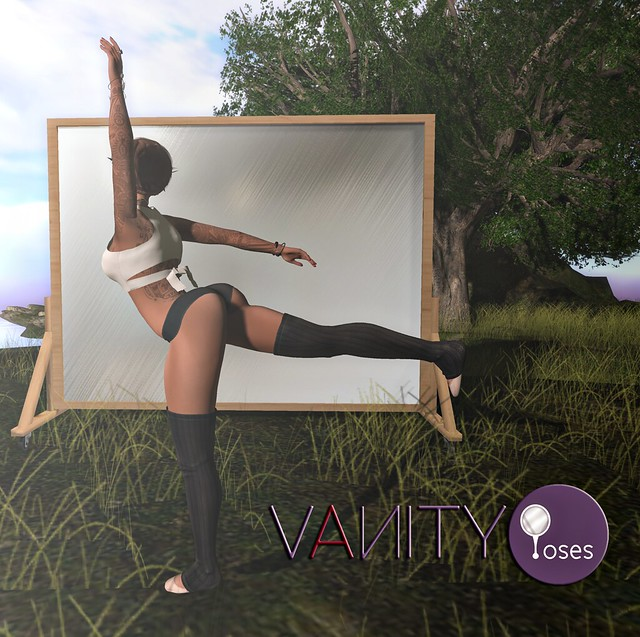 Vanity Poses - Art Reflected