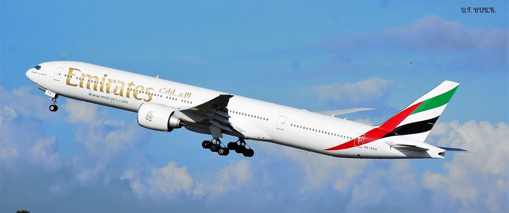 A6-EPA - B77W - Emirates