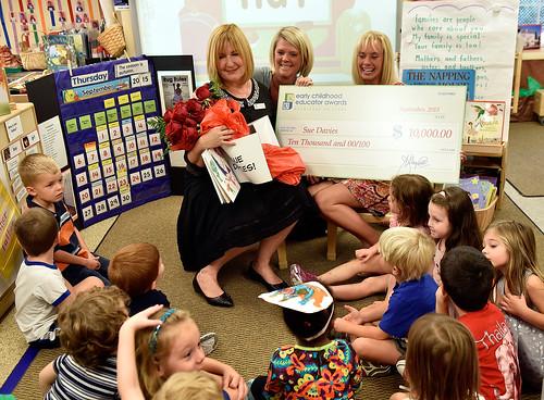 Sue Davies Educator Award 2015