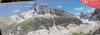 День 5. Ледник Мер-де-Глас - так же можно посмотреть информационный стенд. Обратите внимание на пунктирную линию - это уровень ледника в 1820 года. На сколько он был больше! Ледник отступает - за последние 100 лет площадь ледника уменьшилась н четверть.