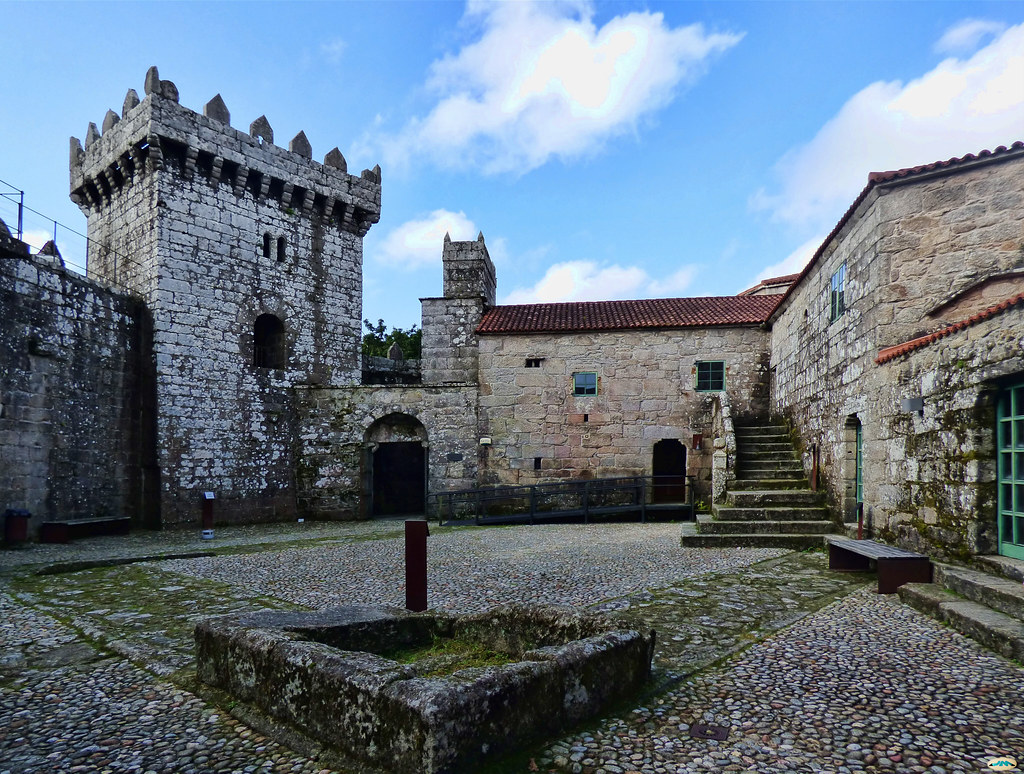 Patio del Castillo de Vimianzo