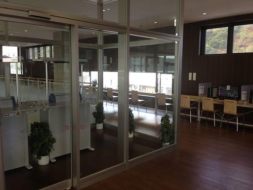 rishiri-island-oshidomari-ferry -terminal-free-wifi-smoking-area