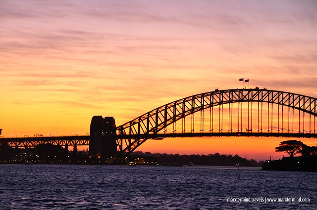 Sunset Cruise Sydney Harbour Bridge