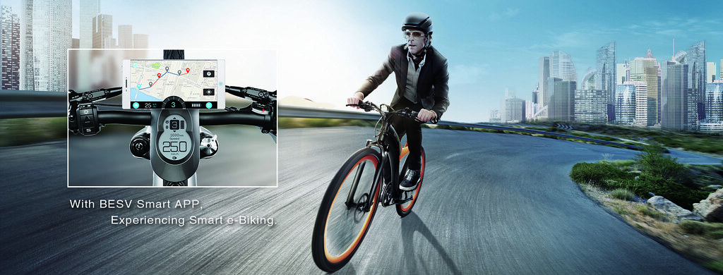 BESV smart e-biking